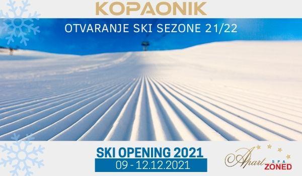ski opening 2021 Kopaonik